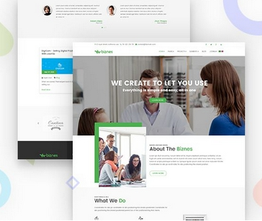 Joomla Template: Business